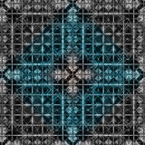 Pattern in blue and black Stock Photos