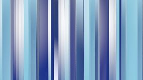 Pattern of blue color strips prisms. Abstract background. 3D rendering illustration Royalty Free Stock Photography