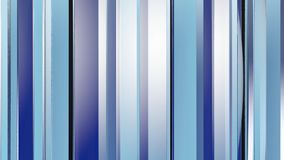 Pattern of blue color strips prisms. Abstract background. 3D rendering illustration Stock Images