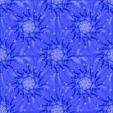 Pattern in blue colors Royalty Free Stock Photos