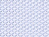 Pattern of blue columns seamless texture. Abstract pattern of blue columns cubes. Seamless texture Stock Photo