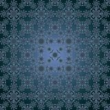 Pattern blue dark seamless Stock Photography