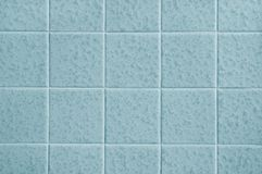 Pattern of blue tiles Stock Photos