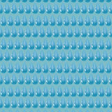 Pattern of blue water drop. Pattern of water drop on blue background vector illustration