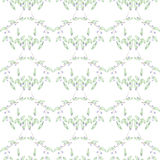 Pattern of blueberries Royalty Free Stock Photography
