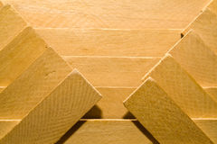 Pattern from boards Stock Photography
