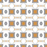 Pattern with bold geometric shapes in 1970s style Stock Photos