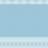 Pattern borders Royalty Free Stock Images
