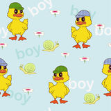 Pattern for boys Stock Photo