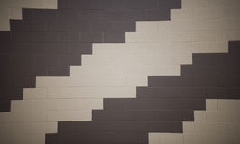 Pattern on brick wall Stock Photography