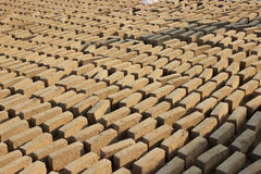 Pattern of bricks. Royalty Free Stock Images