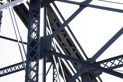 Pattern Of Bridge Beans and Girders Royalty Free Stock Images