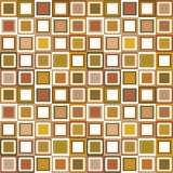 Pattern in brown tones. Background with squares vector illustration