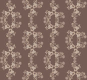 Pattern in brown tones Royalty Free Stock Image