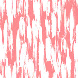 Pattern with brushstrokes and stripes Stock Images