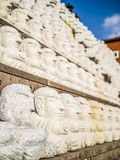 Pattern of Buddhist Saints Stone, in Korean Architectural Style, Stock Photography