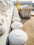 Pattern of Buddhist Saints Stone, in Korean Architectural Style, Stock Photos