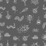 Pattern with bugs. Stock Photography