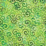 Pattern of Bunches Green Stock Image