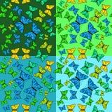 The pattern of butterflies. Stock Photos