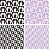 Pattern with butterflies Royalty Free Stock Photography