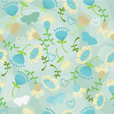Pattern with  butterfly Royalty Free Stock Photo