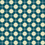 Pattern with buttons and stripes Stock Image