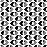 Pattern-bw-0002 Royalty Free Stock Photo