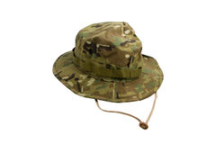Pattern camouflage cap Royalty Free Stock Photo