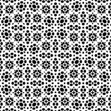 Dot and leaf seamless Pattern in white background. This pattern can use as a background, wallpaper, web, printing, laser cutting, lamp making Royalty Free Stock Photos