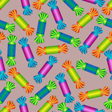 Pattern from candies. Royalty Free Stock Image