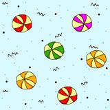Pattern candy royalty free stock photo