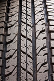 Pattern of car tire Stock Photo