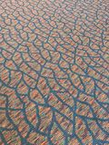 Pattern carpet lines Royalty Free Stock Photography