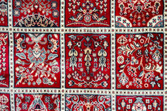 Pattern on carpet Royalty Free Stock Photography