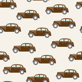 Pattern with cars Stock Photography