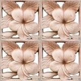Pattern on carved sandstone Stock Images