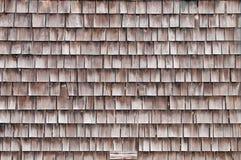 Pattern - cedar shakes Stock Image