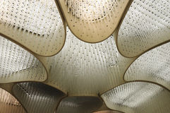 Pattern of ceiling lamp Royalty Free Stock Image