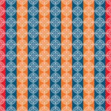 Pattern with ceramic motives vector seamless Stock Photo