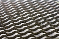 Pattern of ceramic roofing tiles royalty free stock photos