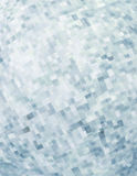 Pattern with chaotic pixels on white background Stock Image