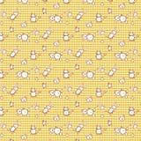 Pattern- checks and animals vector illustration