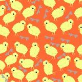 Pattern chicken stock illustration