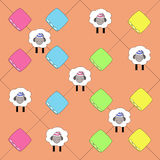 Pattern for children's textiles Stock Images