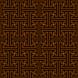 Pattern Chinese. Pattern, seamless for wallpaper or background, strong geometry, chinese historical motive Royalty Free Stock Photos