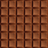Pattern of chocolate bars Royalty Free Stock Photography