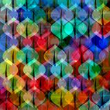 Pattern with Christmas balls royalty free illustration