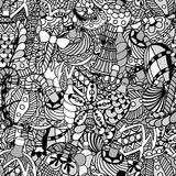 Pattern with christmas Royalty Free Stock Photography