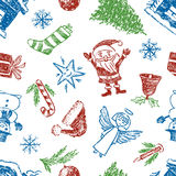 Pattern of christmas Stock Image